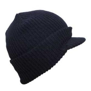 Jeep Cap (100% Acrylic) Navy Blue