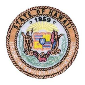 Hawaii State Seal Patch