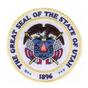 Utah State Seal Patch
