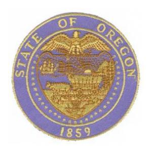 Oregon State Seal Patch