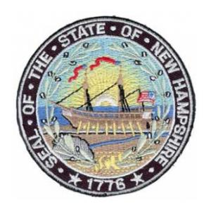 New Hampshire State Seal Patch