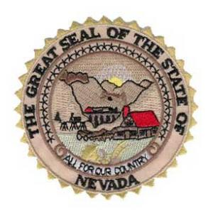 Nevada State Seal Patch