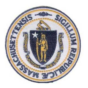 Massachusetts State Seal Patch