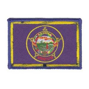Minnesota State Flag Patch