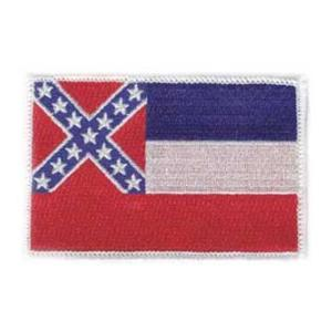 Mississippi State Flag Patch