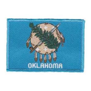 Oklahoma State Flag Patch