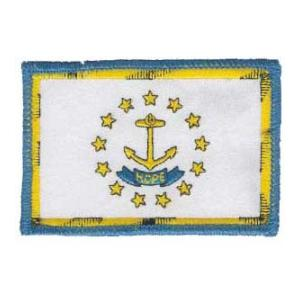 Rhode Island State Flag Patch
