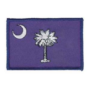 South Carolina State Flag Patch