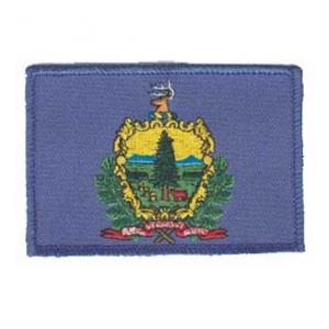 Vermont State Flag Patch