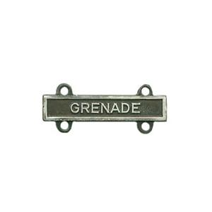 Army Grenade Qualification Bar