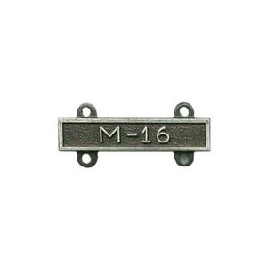 Army M-16 Qualification Bar