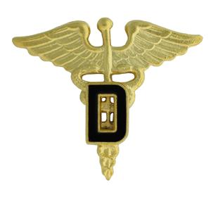 Army Officer Dental Insignia