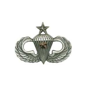 Army Senior Combat Parachutist (1-Star) Skill Badge
