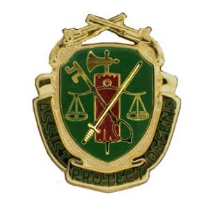 Army Military police Regimental Crest Pin