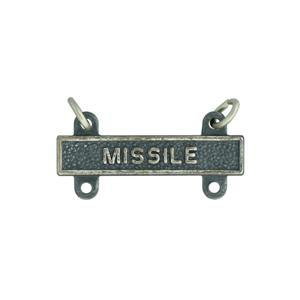 Army Missile Qualification Bar