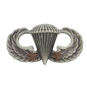Army Combat Parachutist (2-Star) Skill Badge