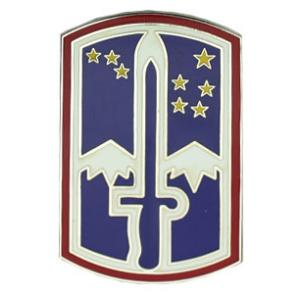 172nd Infantry Brigade Combat Service I.D Badge