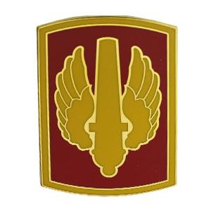 18th Fires Brigade Combat Service I.D. Badge