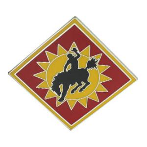 115th Field Artillery Brigade Combat Service I.D. Badge