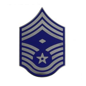 Air Force Chief Master Sergeant w/ Diamond (Metal Chevron)
