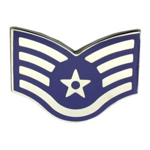 Air Force Staff Sergeant (Metal Chevron)