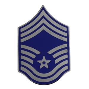 Air Force Chief Master Sergeant (Metal Chevron)