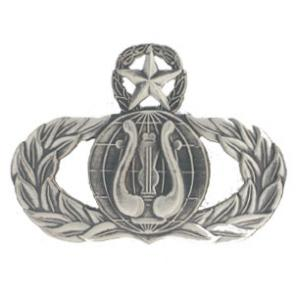 Air Force Master Band Badge