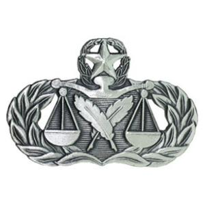Air Force Master Paralegal Badge
