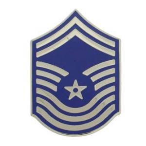 Air Force Chief Master Sergeant (Metal Chevron) (Pre 1991)