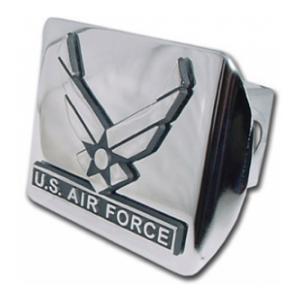 Air Force Wings Hitch Cover (Chrome)