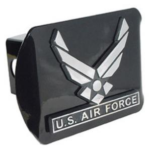 Air Force Wings Hitch Cover (Black)