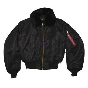 Alpha B-15 Flight Jacket (Black)