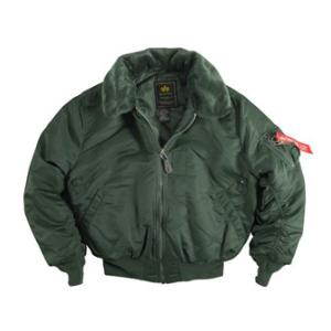 Alpha B-15 Flight Jacket (Sage Green)