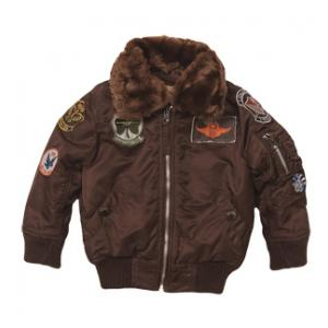 Youth Alpha Maverick Jacket with Patches