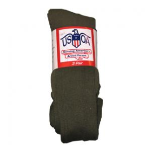 Anti-Microbial Boot Socks (Olive)