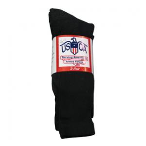 Anti-Microbial Boot Socks (Black)