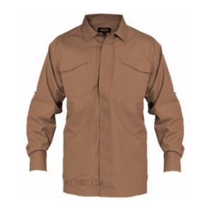 Tru-Spec 24/7 Series Long Sleeve Uniform Shirt (Coyote Tan)