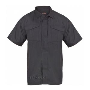 Tru-Spec 24/7 Series Short Sleeve Uniform Shirt (Black)