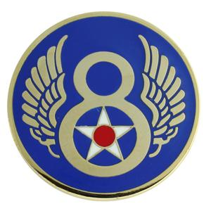 8th Army Air Force Pin