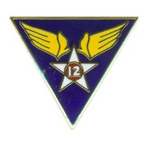 12th Army Air Force Pin