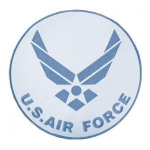 New Logo Air Force with Letters (Back Patch)