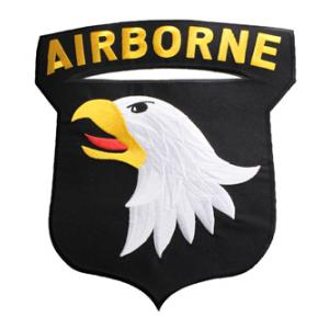 101st Airborne Back Patch