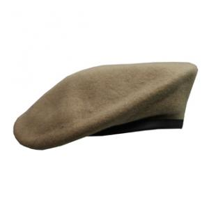 Military Beret(Leather Sweatband)(Ranger Tan)