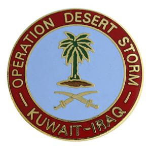Operation Desert Storm Pin