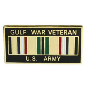 Army Gulf War Veteran Pin