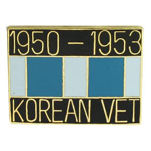 Korean Veteran with Ribbon Pin