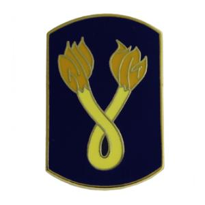196th Infantry Brigade Pin