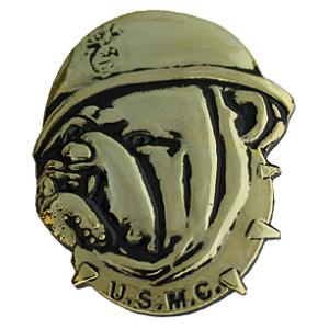 US Marine Bulldog Head Pin