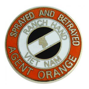 Vietnam Agent Orange Pin