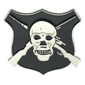 Snipers Badge Pin
